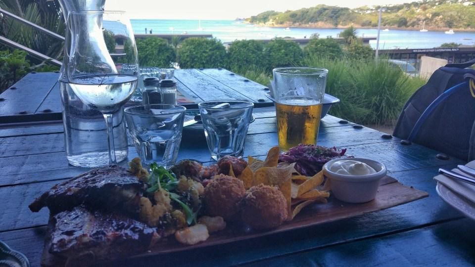 Dinner at Waiheke Island