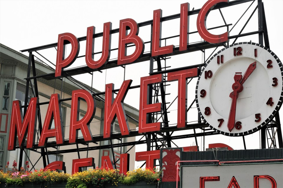 Seattle Pike Place Market After Work