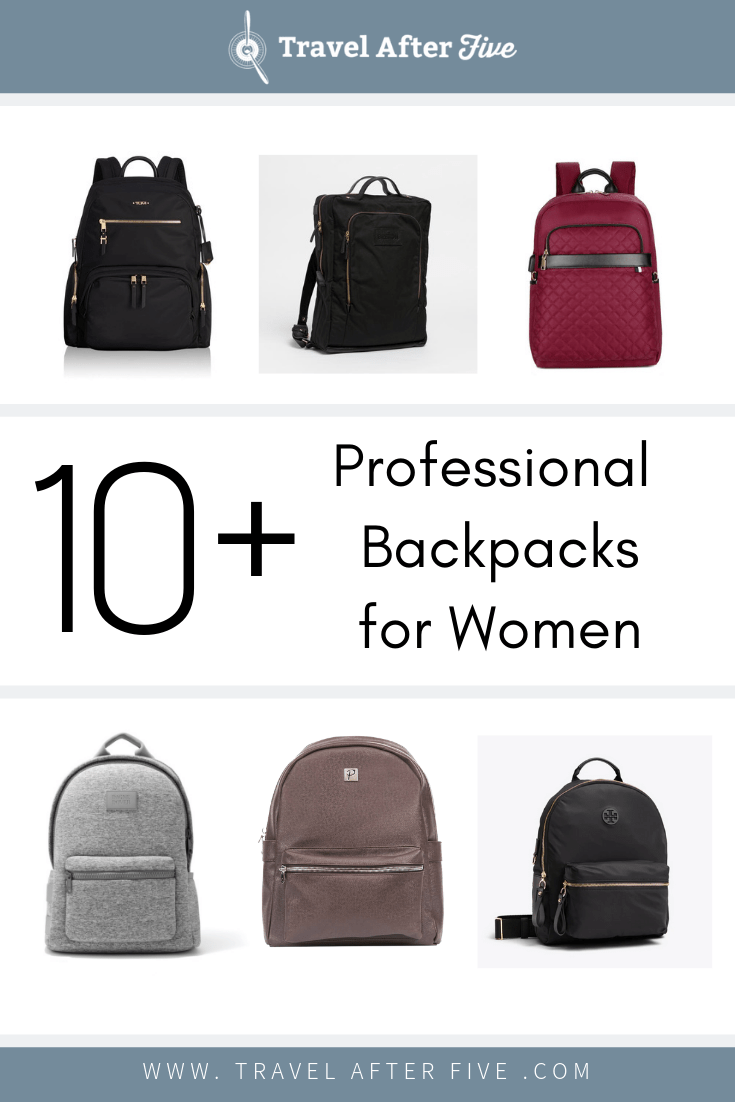 Check out our growing list of the best professional backpacks for working women. There are many factors to consider when selecting a #professionalbackpack. Look at whether or not it can fit a laptop. Look at whether it has a luggage strap, or enough pockets for your regular items. These backpacks will help you travel from point A to point B, while still looking business professional.