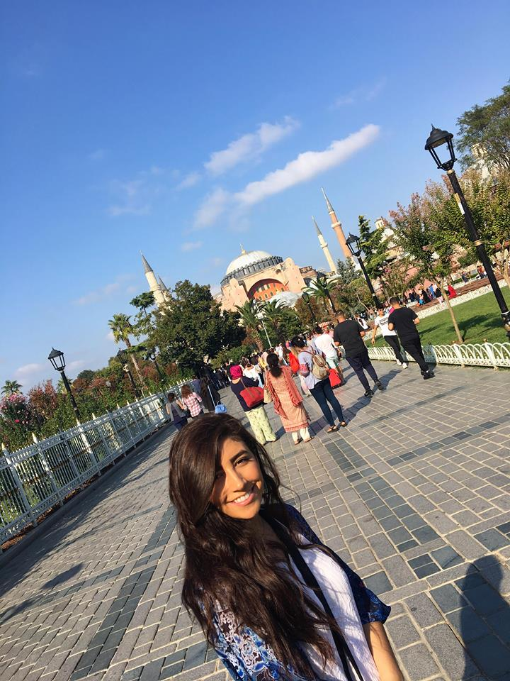 Traveling engineer visits istanbul