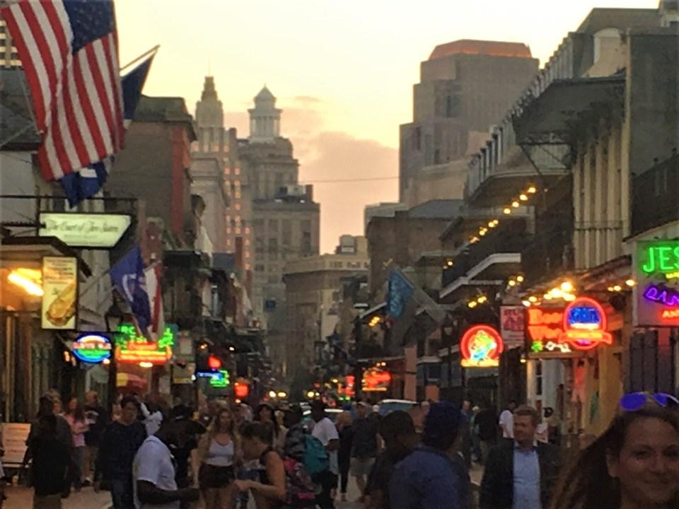 New Orleans Bourbon Street After Five