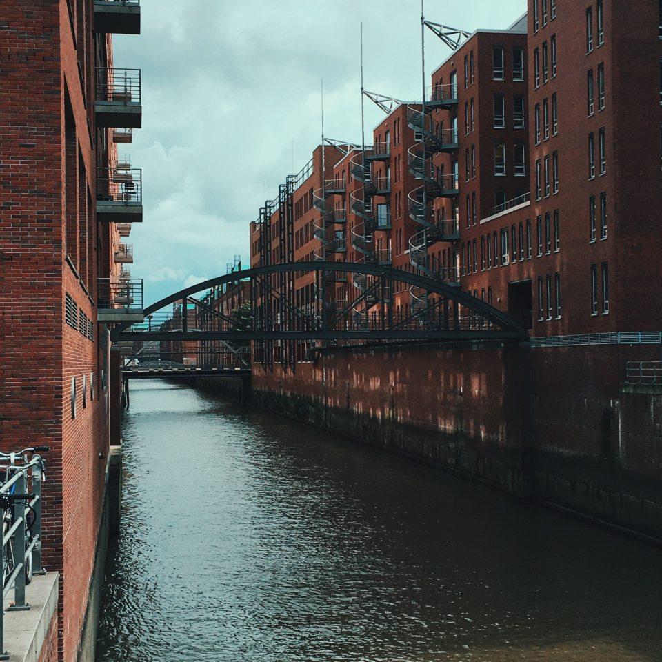 Speicherstadt Hamburg after work