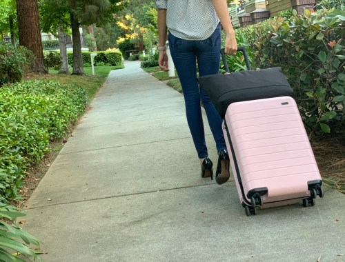 Choosing a suitcase for work