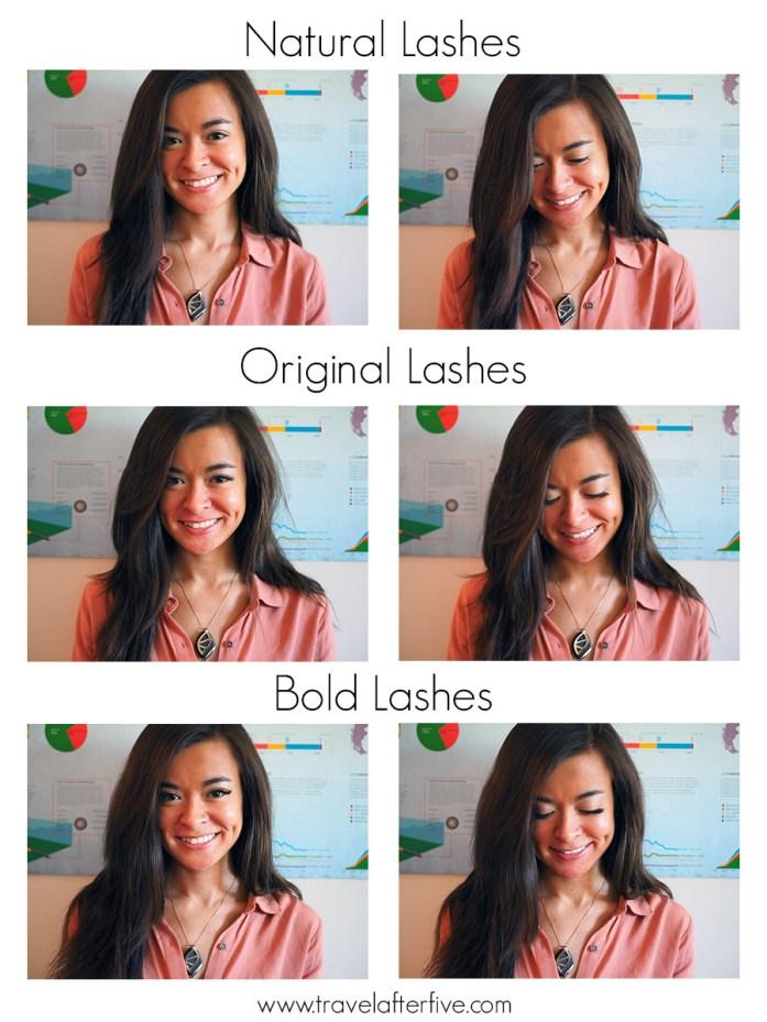 one two lash magnetic lashes comparison