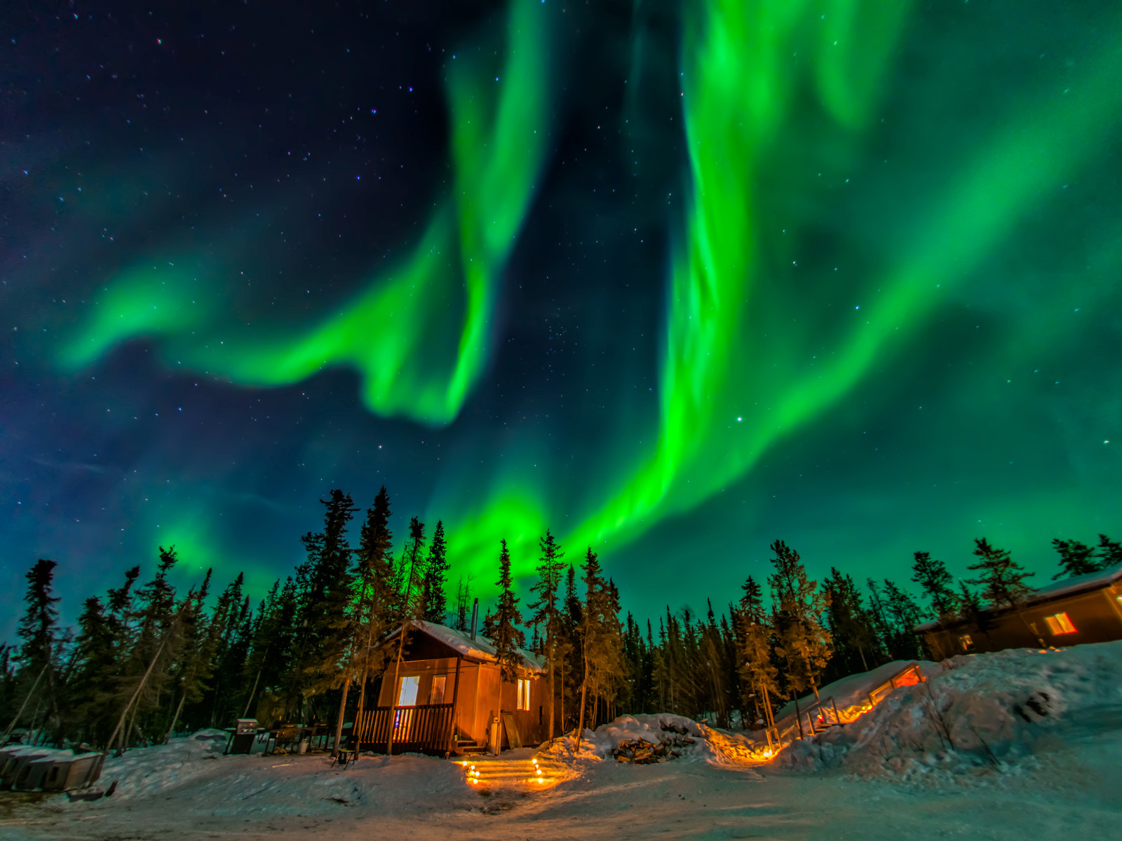 Best Place See Northern Lights British Columbia