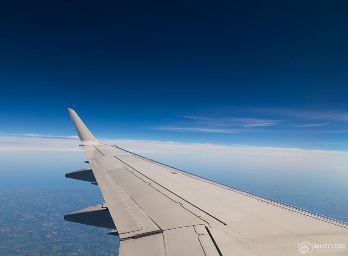 Voando no céu