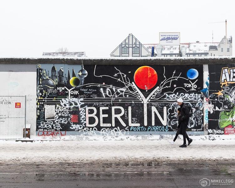 Parte do Muro de Berlim