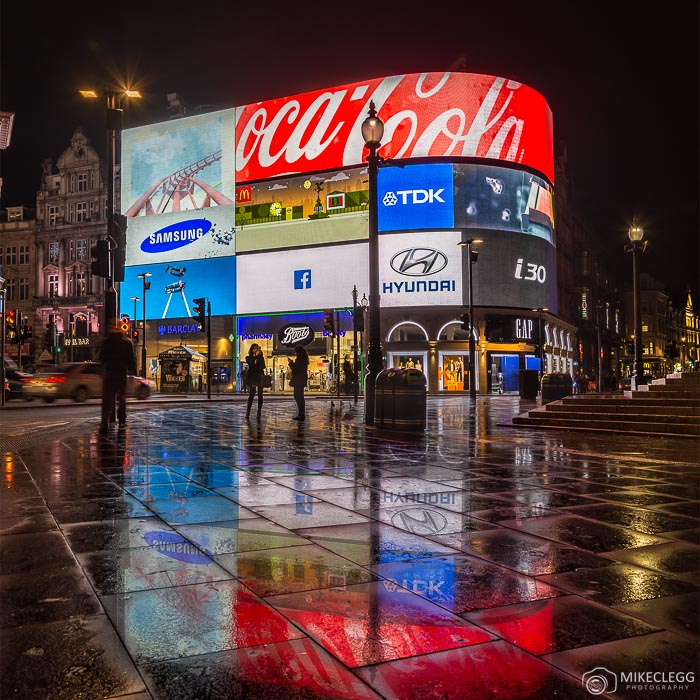Piccadilly Circus à noite