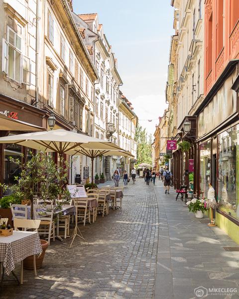 Ruas de Ljubljana