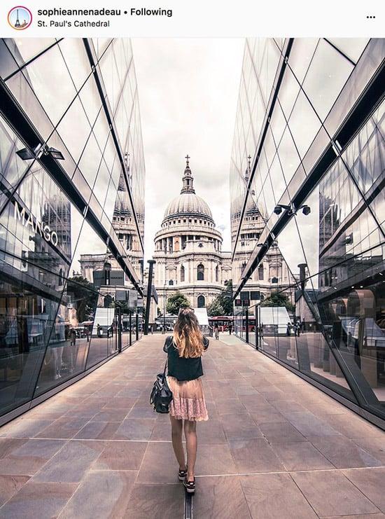 Fotógrafos do Instagram de Londres - @sophieannenadeau