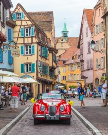 Carros no Tour Alsace 2016
