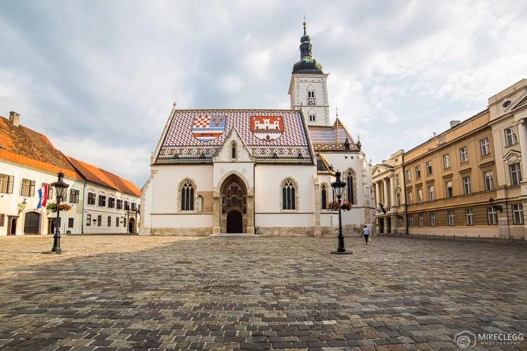Igreja de São Marcos, Zagreb