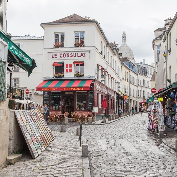 Ruas de Montmartre, Paris