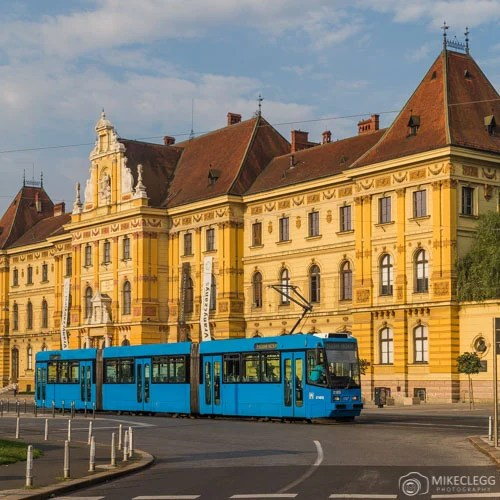 Blue Trams em Zagreb