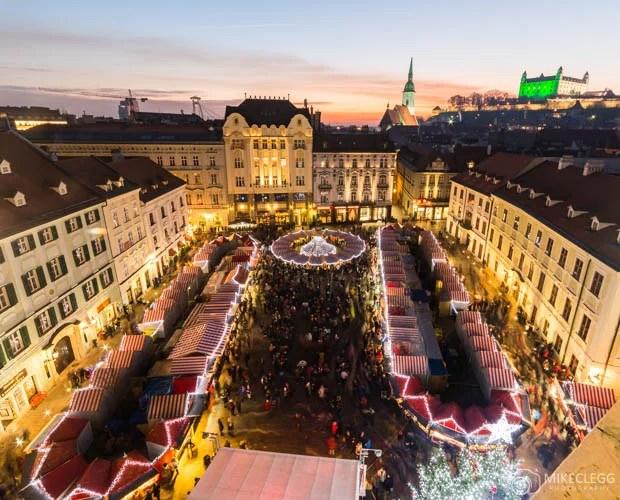 Mercado de Natal de Bratislava