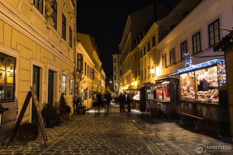 Spittelberg em Viena no Natal