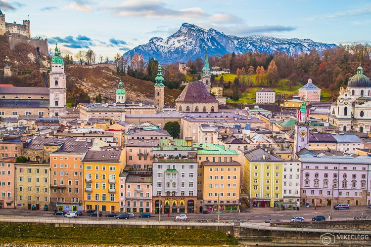 Salzburg Skyline, Áustria