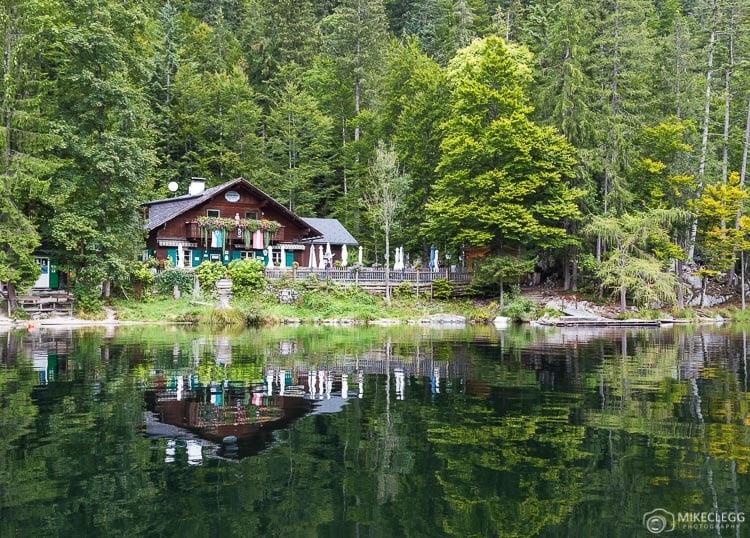 Lago Toplitzsee na Áustria