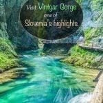 Visite Vintgar Gorge, um dos destaques da Eslovênia