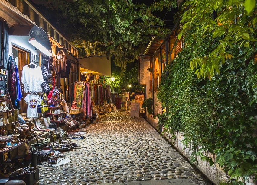 Ruas bonitas em Mostar