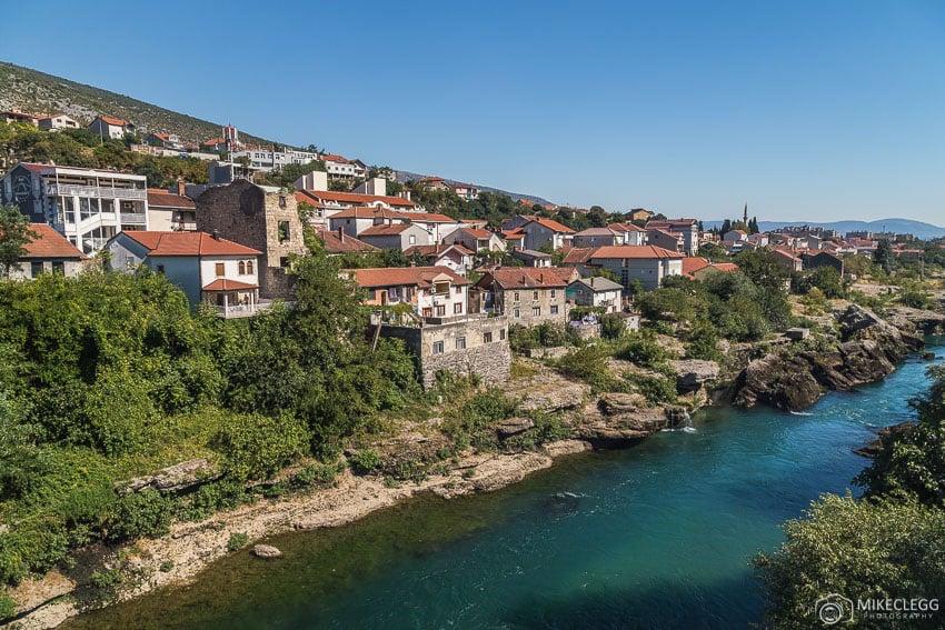 Excelente arquitetura em toda a cidade, Mostar