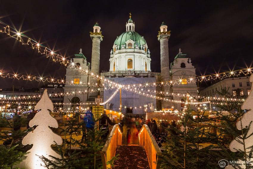 Mercados de Natal em Viena
