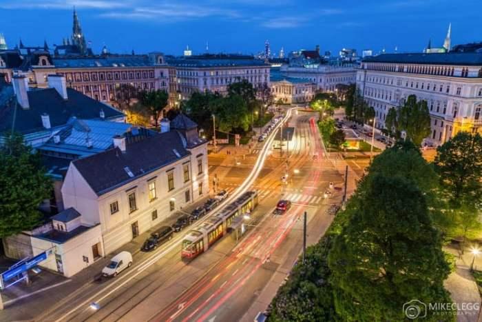 Vista do 25 Hours Hotel Vienna