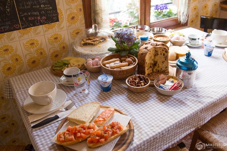 Fantástico Café da Manhã em Veneza