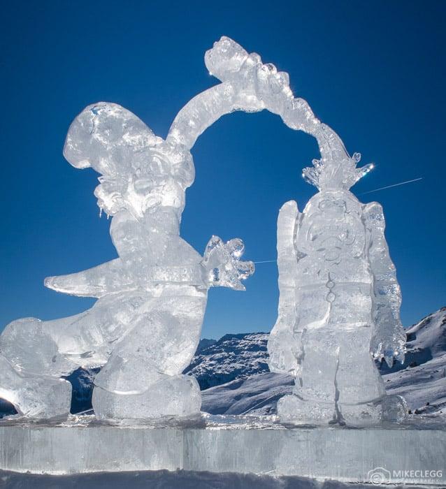 Art on the Snow by Alex Neumayer, Gastein