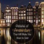 Fotos de Amsterdã que farão você querer visitar