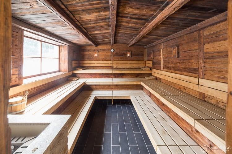 Sauna no Alpen Palace Resort and Spa