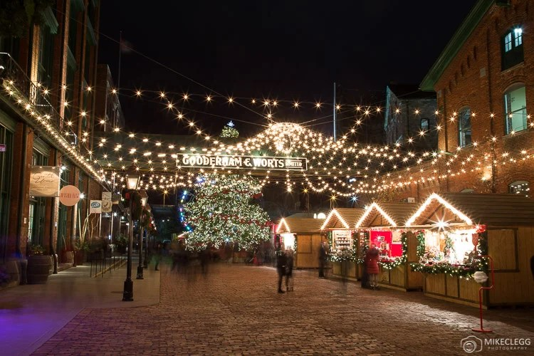 Distillery Historic District, Christmas
