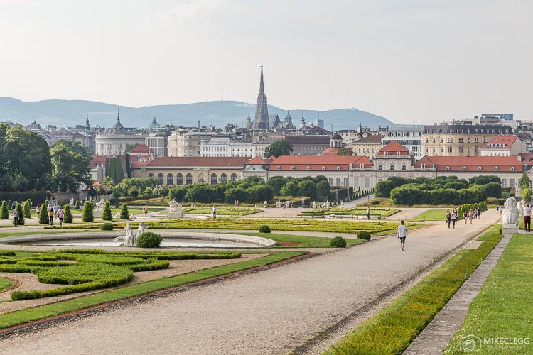 Jardins do Belvedere, Viena