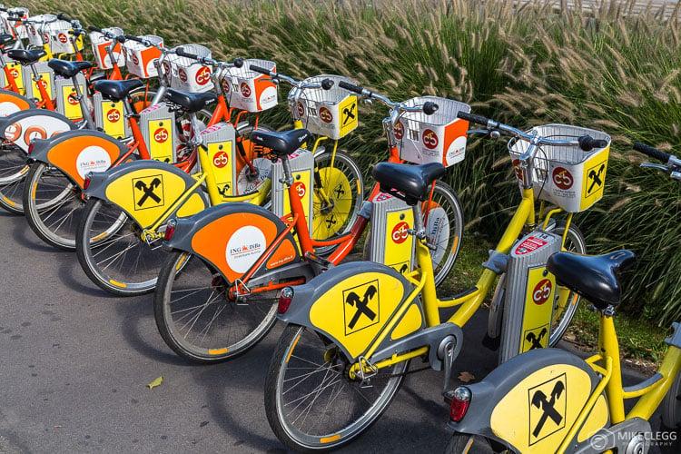 City Bikes em Viena