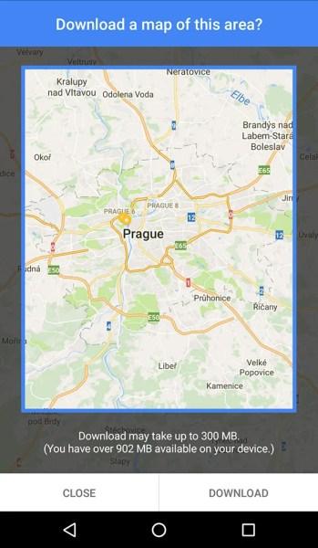 Mapas offline