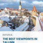 Os melhores mirantes em Tallinn