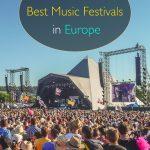 5 dos melhores festivais de música da Europa