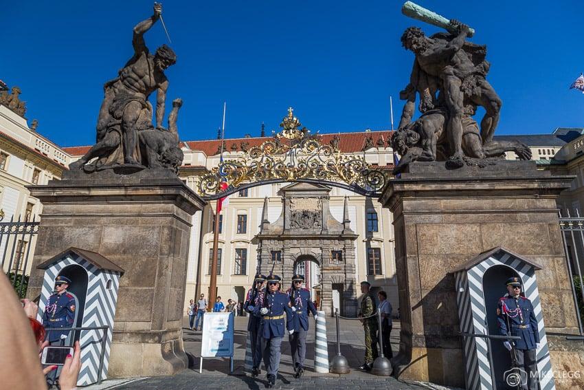 Matthias Gate, Castelo de Praga