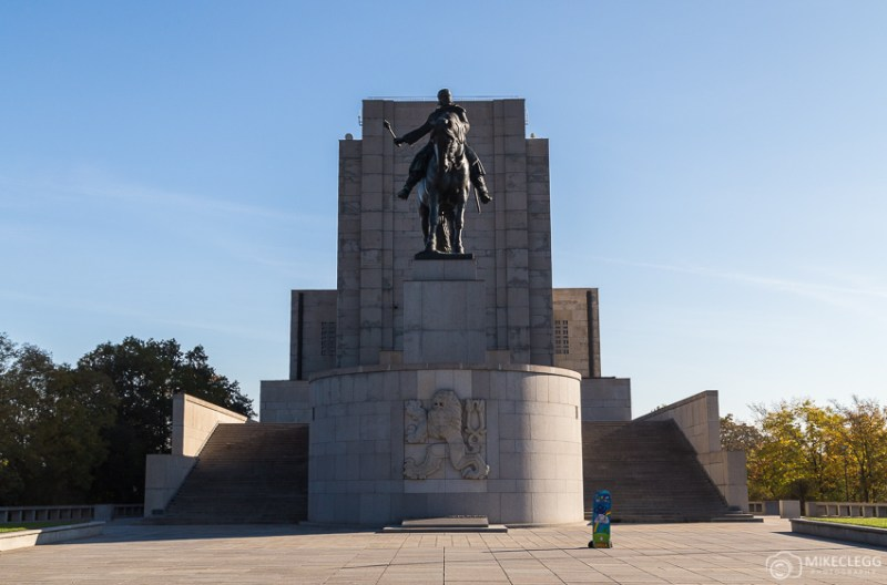 Monumento Nacional em Vitkov, Praga