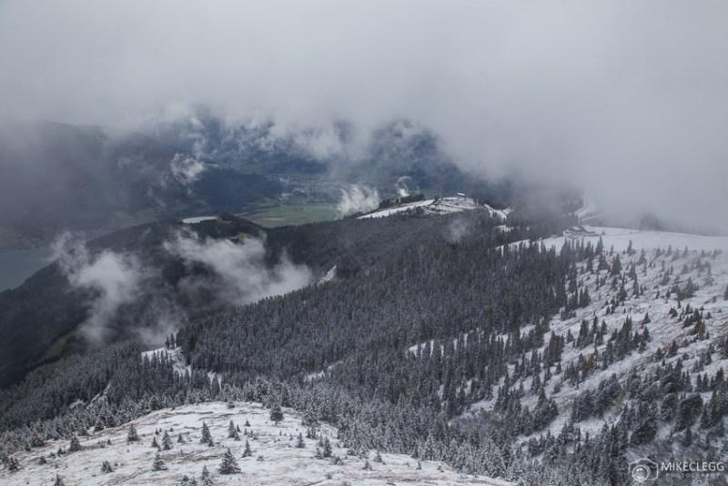 Cenas nevadas de Schmittenhöhe