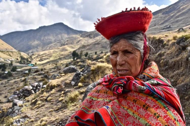 Moradores no Peru por Leanne Scott