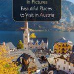 Em fotos. Belos lugares para visitar na Áustria