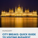 Pin - City Breaks_ Guia rápido para visitar Budapeste