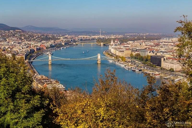 Vista da Citadella, Budapeste