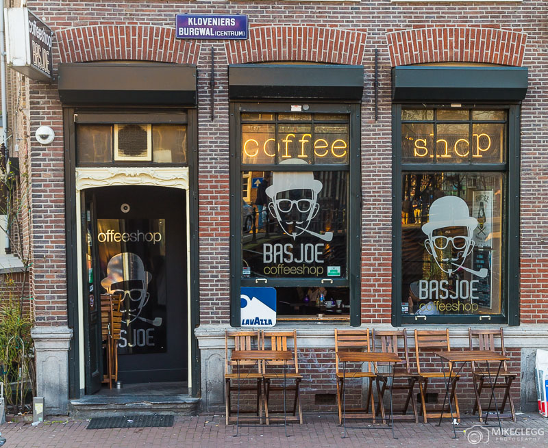 Cafés em Amsterdã