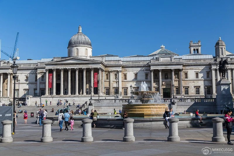 Trafalgar Square, Londres - Dia