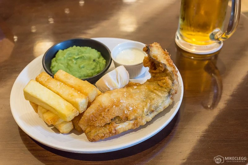 Fish and Chips inglês