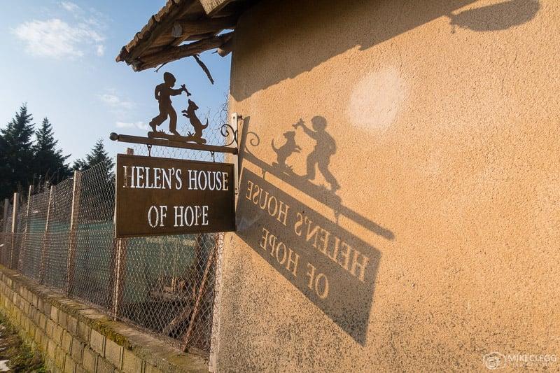 Placa Helens House of Hope