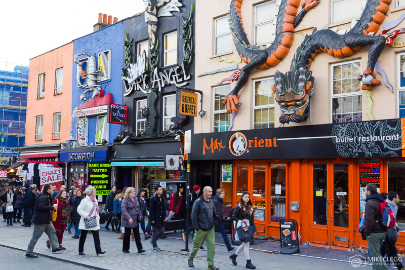 Camden Town e Streets em Londres