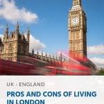 Pinterest - prós e contras de morar em Londres